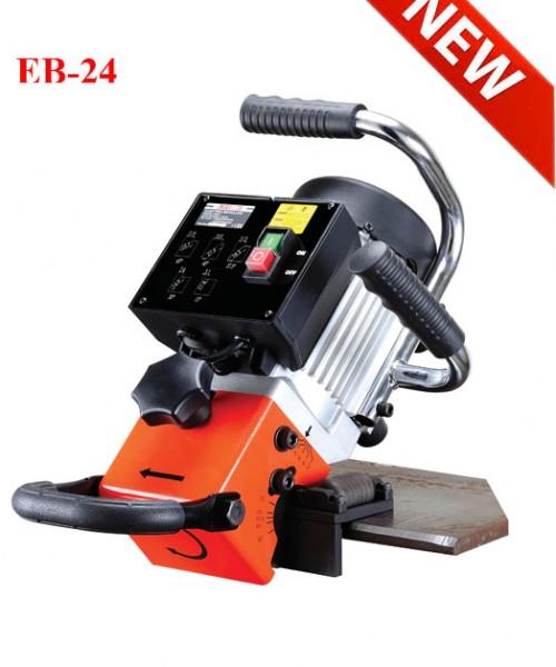 Máy vát mép cạnh thép góc 15 độ, 30 độ, 37.5 độ, 45 độ, 60 độ cầm tay EB-24
